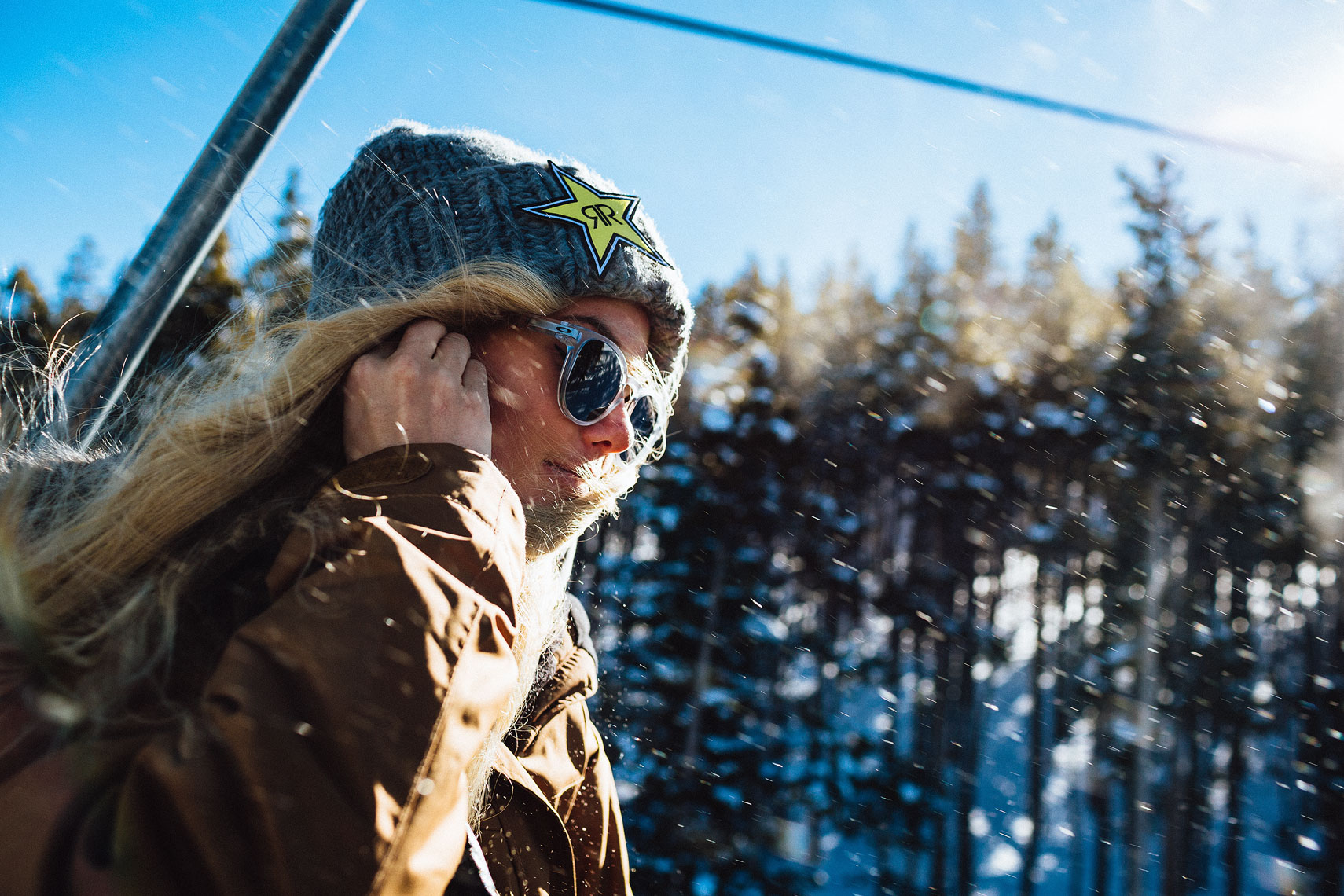 Silje Norendal. Shot for Skullcandy.
