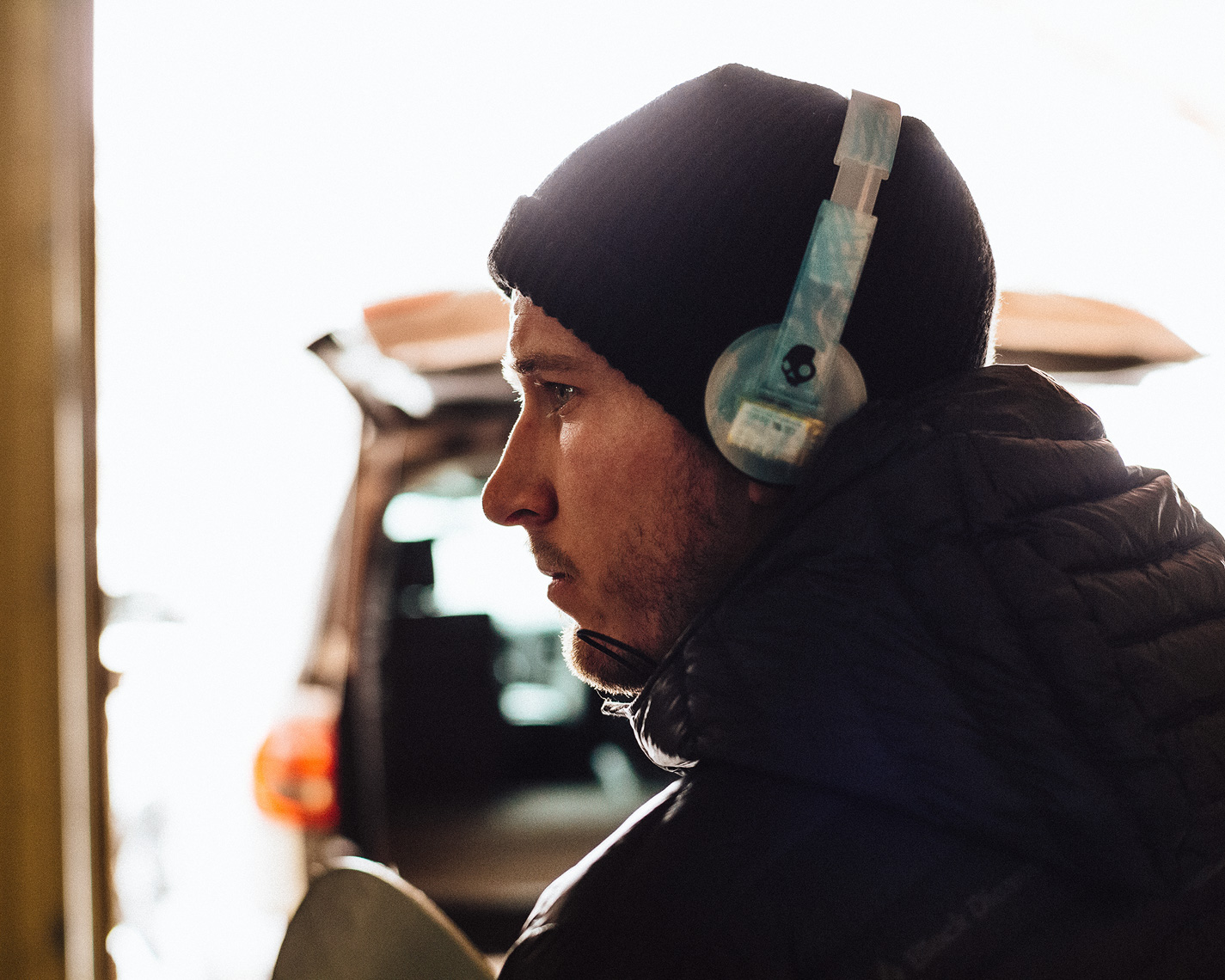 Aaron Bittner. Shot for Skullcandy.
